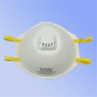 杯狀型,配戴舒適,無異味, 高效過濾空氣中粉塵及油性微粒, 防護效率在94%以上, 置有呼吸氣閥,呼吸更通暢, 鼻樑部分可與口罩得到最佳密合,通過歐規EN149:2001 FFP2 + A1:2009認證