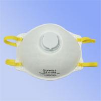 杯狀型,配戴舒適,無異味, 高效過濾空氣中粉塵及油性微粒, 防護效率在94%以上,置有呼吸氣閥,呼吸更通暢, 鼻樑部分可與口罩得到最佳密合 ,通過歐規EN149:2001 FFP1 + A1:2009認證