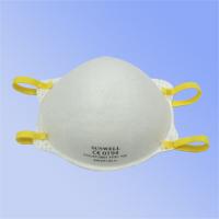 杯状型,配戴舒適,無異味, 高效過濾空氣中粉塵及油性微粒, 防護效率在80%以上,呼吸阻力小,鼻樑部分可與口罩得到最佳密合,通過歐規EN149:2001 FFP1 + A1:2009認證