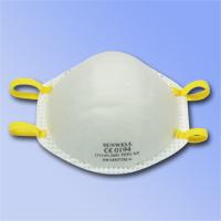 杯狀型,配戴舒適,無異味, 高效過濾空氣中粉塵及油性微粒, 防護效率在94%以上, 呼吸阻力小, 鼻樑部分可與口罩得到最佳密合, 通過歐規EN149:2001 FFP2 + A1:2009認證